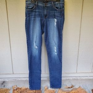 Flying Monkey Low Rise skinny distressed jeans 31